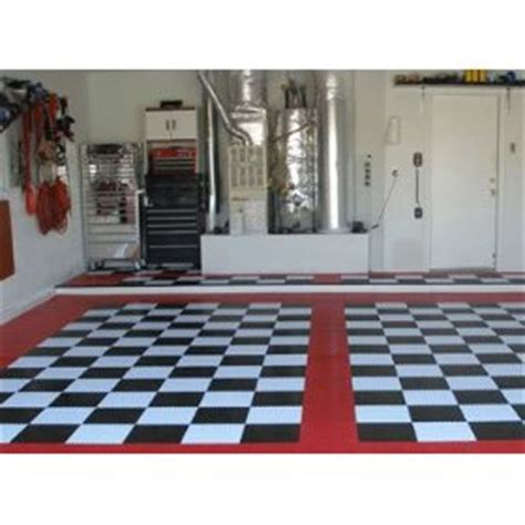 Buy Garage Flooring by Buy Complete Kit Garage Floor Tiles In Checker Pattern