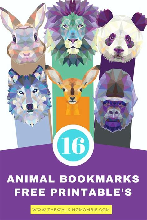 printable animal bookmarks free animal bookmark printables printables 4 mom