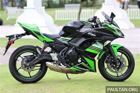 pandangan awal kawasaki 650 dan z650 abs pengendalian seperti motosikal 250 cc kuasa
