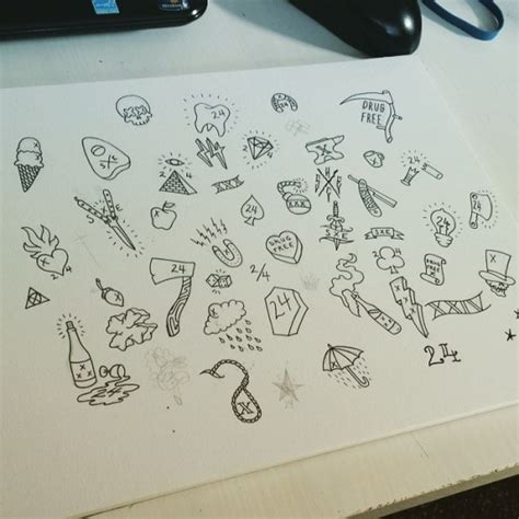 which friday the 13th tattoo should you get here s a picture of my friday the 13th flash sheet you
