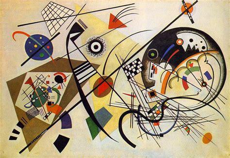 imagenes abstractas de kandinsky por amor al arte wassily kandinsky precursor de la