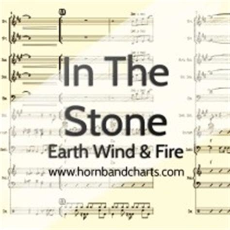 earth wind and fire horn section in the stone horn chart pdf horn band charts