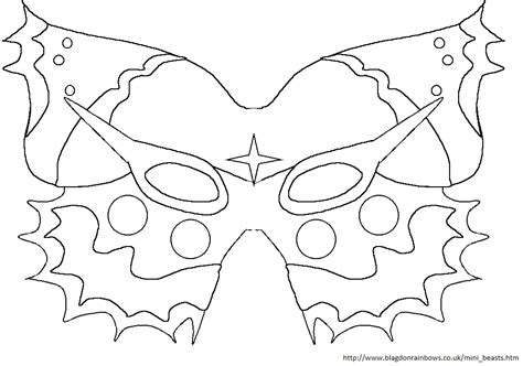 butterfly mask template printable printables and charts