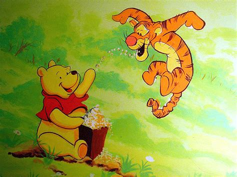 winnie the pooh painting childrens murals childrens murals mural