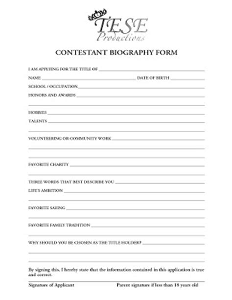 formal biography format formal biography format in california quotewrite