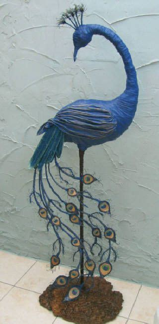 How To Make A Paper Mache Peacock - gallery one powertex papier mache awesome