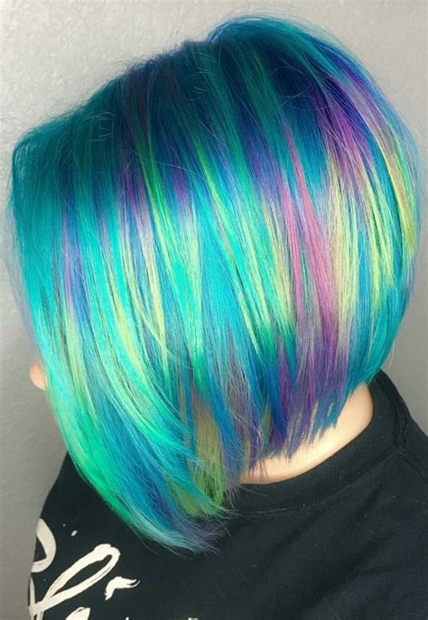 dyed hairstyles 1000 images about all the pretty colored hair on