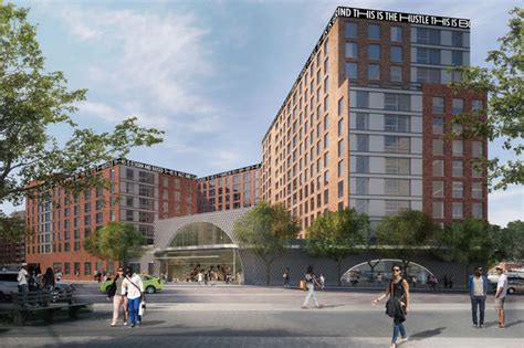2017 ave bronx affordable housing complex with headed