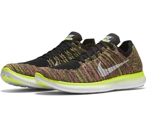 nike free run knit nike free run fly knit oc s running shoes multi