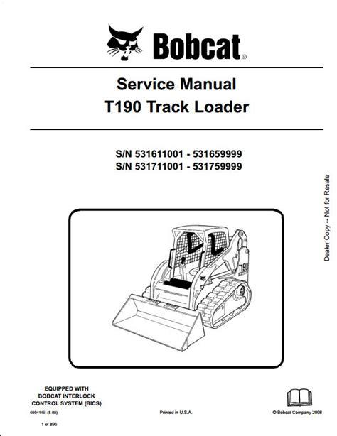 t190 bobcat wiring diagram get free image about wiring