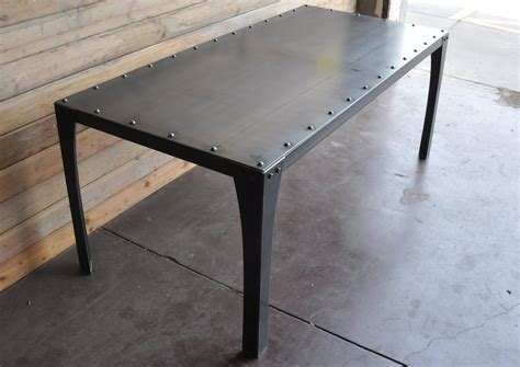 Shop Kitchen Islands by Simple Metal Table Vintage Industrial Furniture