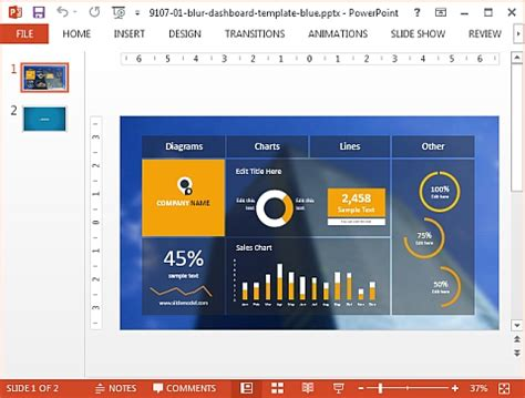 most professional powerpoint template slidemodel professional powerpoint templates for