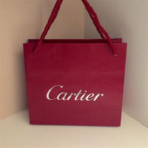 Cartier Paperbag M cartier handbags small gift bag poshmark