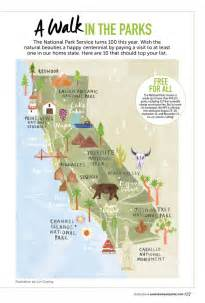 california map of national parks 25 best ideas about california national parks on
