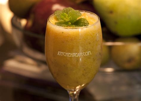 Peachy Mango Fruit Smoothie 100gr T2909 1 pineapple and mint smoothie kitchenbean