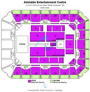 Entertainment Centre Floor Plan by Adelaide Entertainment Centre Floor Plan