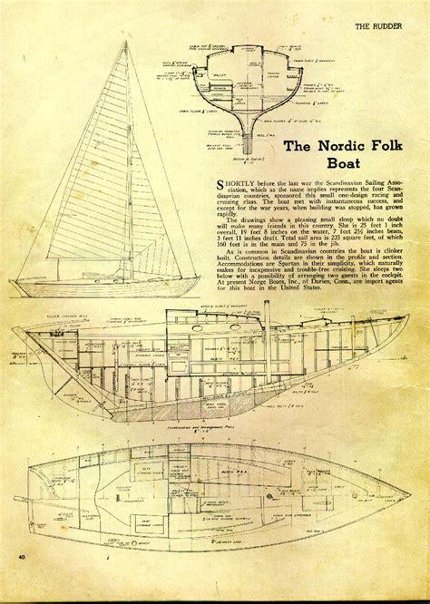nordic folkboat plans - Nordic Boat Plans