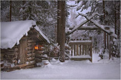 Snowy Cabins by Snowy Wood Log Cabins