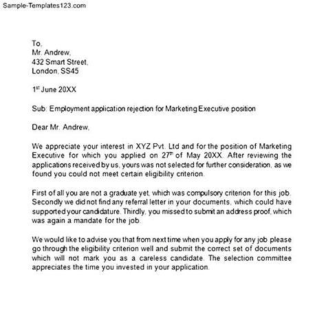 Decline Renewal Letter Cover Letter For Renewal Of Employment Contract