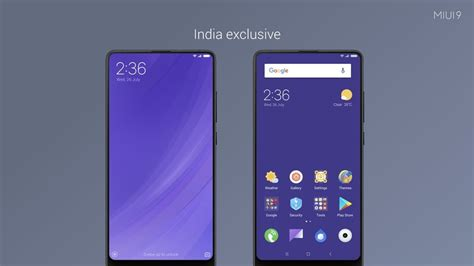 redmi mi2 themes miui 9 global version announced to roll out in india from