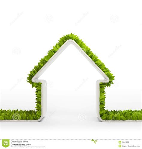 green home symbol royalty free stock image image 26017266