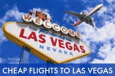 cheap flights to las vegas