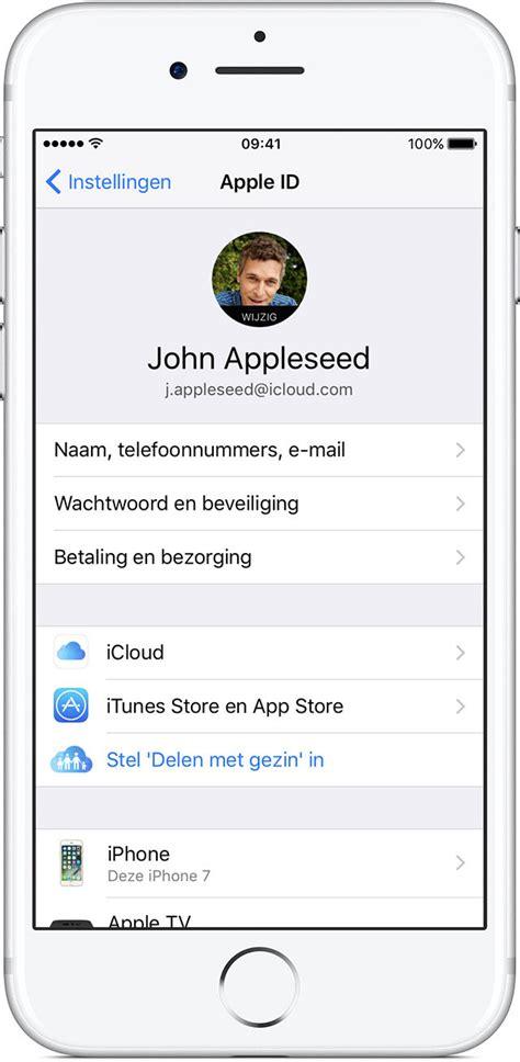 3 iphones 1 apple id log in met uw apple id apple support