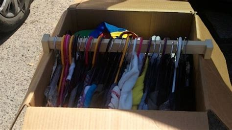 How To Assemble Wardrobe Box by Make Your Own Wardrobe Style Boxes For Quickly Packing Clothes