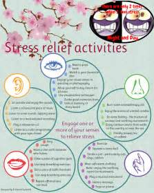 30 ways to relieve stress using the senses jodie gale
