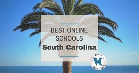 Best Mba Programs Carolina by Top 10 Best Colleges In South Carolina Value Colleges