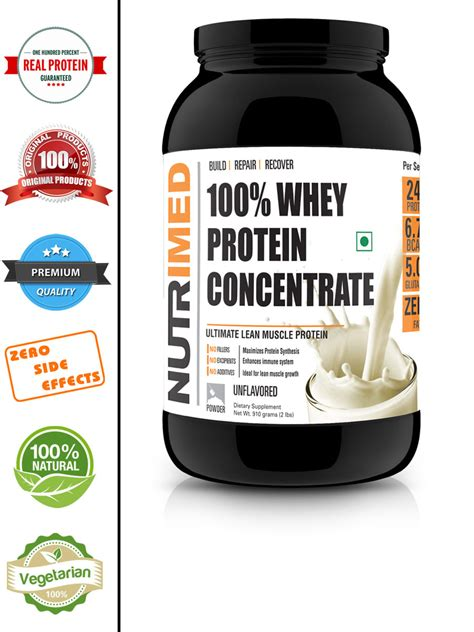 Whey Concentrate Nutrimed 100 Whey Protein Concentrate Unflavoured