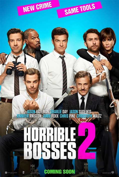 new poster for horrible bosses 2 blackfilm read