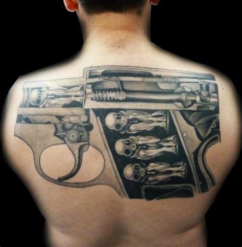 tattoo gun back fantasy back gun tattoo by medusa tattoo