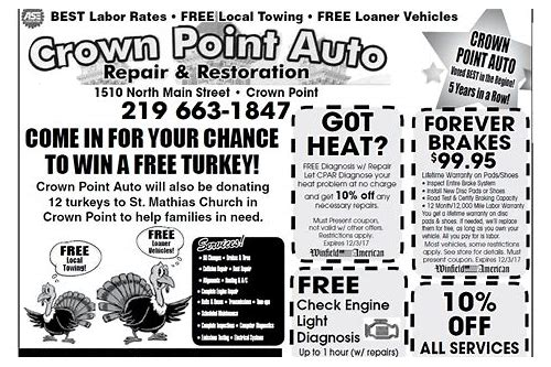 crown point coupons