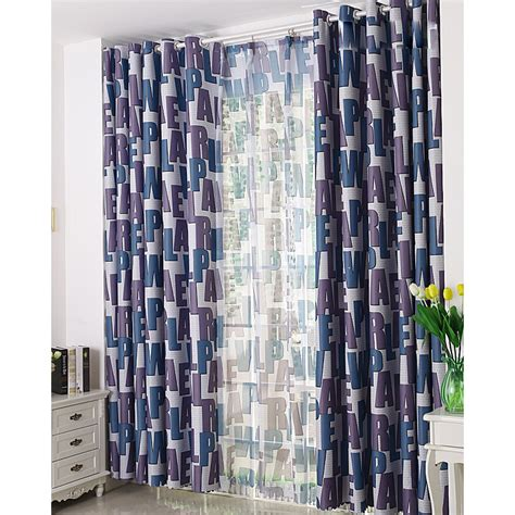 purple and blue curtains unique navy blue and dark purple alphabet pattern thermal