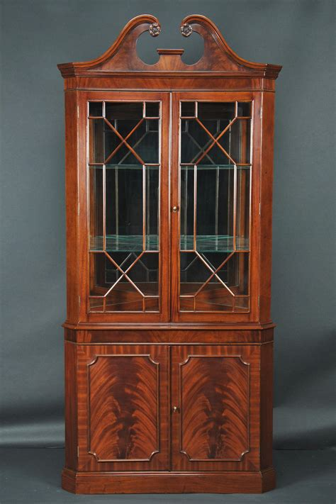 antique corner china cabinet mahogany corner china cabinet corner hutch corner curio