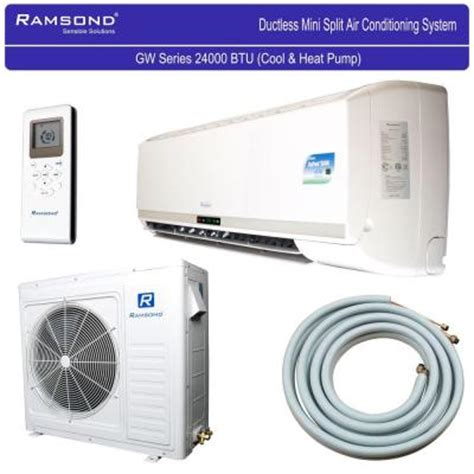 ramsond 24 000 btu 2 ton ductless mini split air