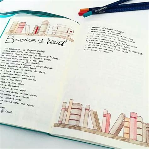 bullet journal book bullet journal a books read page pen pages
