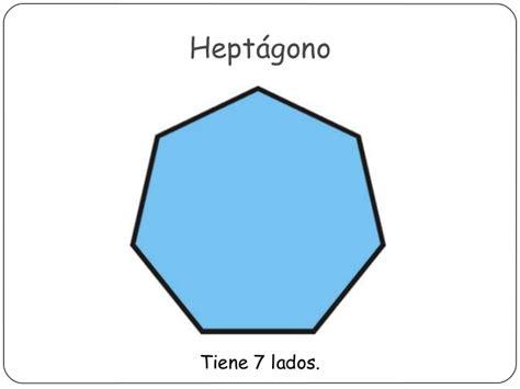 figuras geometricas heptagono los pol 237 gonos