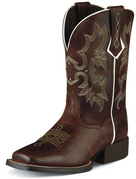 pungo ridge ariat tombstone roughed chocolate kid s