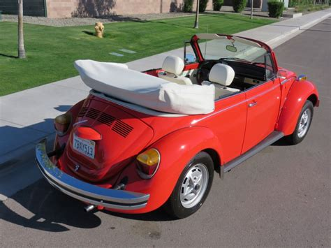 Beetle Volkswagen For Sale by 1979 Volkswagen Beetle Convertible For Sale