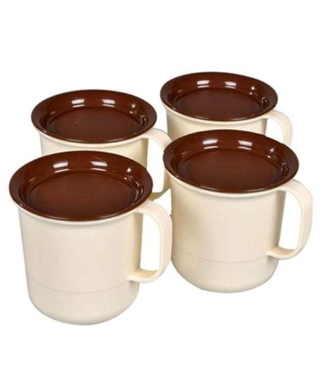 tupperware coffee mugs set of 4 mugs buy at best price in india snapdeal