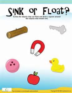 floating and sinking worksheet education com