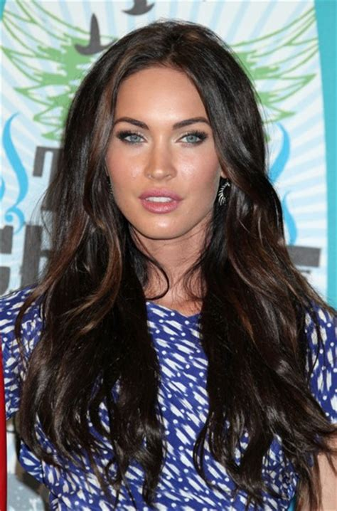 megan hair style funny picture megan fox long hairstyle remy human hair custom
