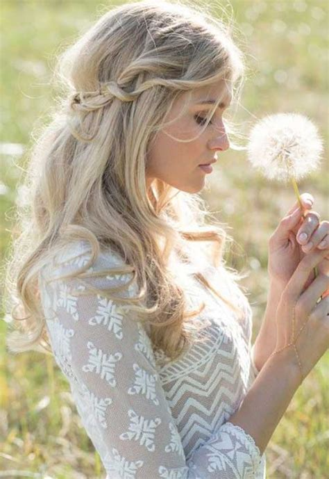 25 simple bridal hairstyles long hairstyles 2016 2017