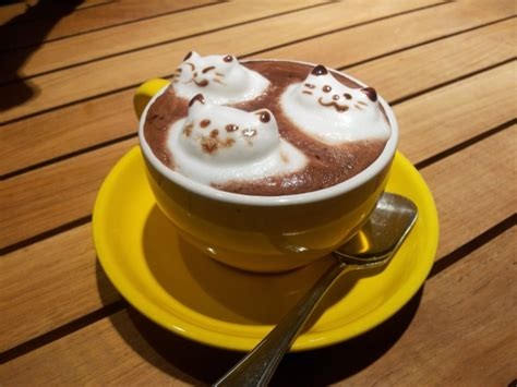 kaffee oder deko kreativit 228 t in einer tasse kaffee archzine net
