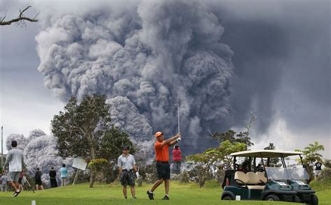 Big Picture Post Nation 3 by Hawaii Volcano Ash Plume From Kilauea S Summit