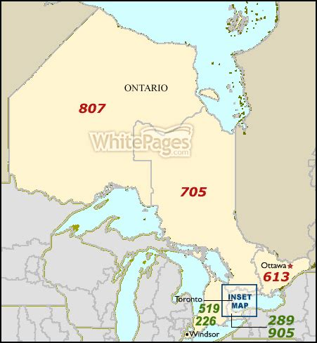 us area code 588 area code map for ontario on whitepages