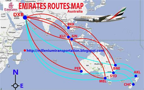 emirates new routes transportspot emirates airlines flights to australia