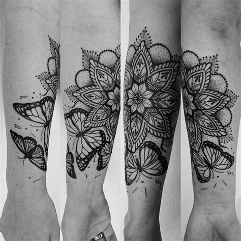 tattoo mandala butterfly mandala butterfly tattoo linework munkytattoo